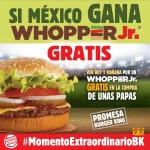 Burger King Wopper Jr Gratis