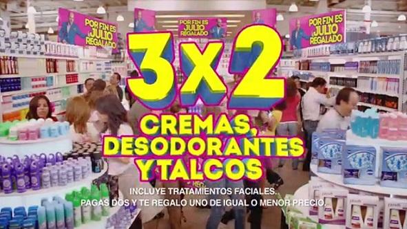 Julio Regalado: Talcos, Desodorantes, Cremas y Tratamientos al 3×2