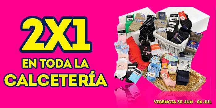 Julio Regalado: Toda la calcetaría al 2×1