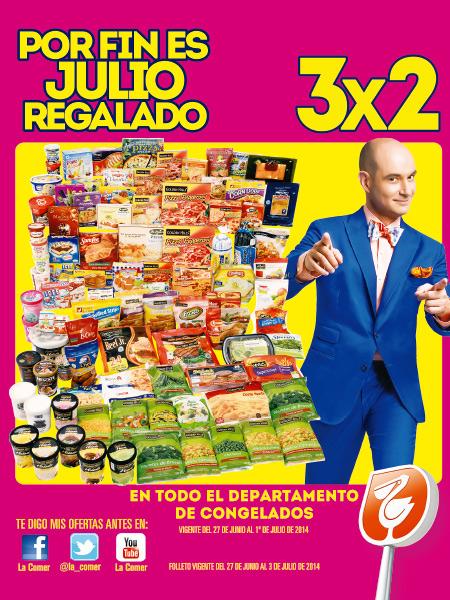Julio Regalado: Folleto del 27 de Junio al 1 de Julio