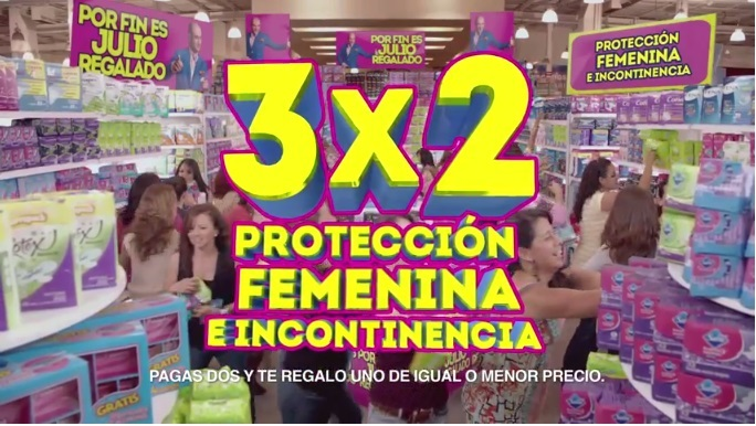 Julio Regalado: Protección femenina al 3×2