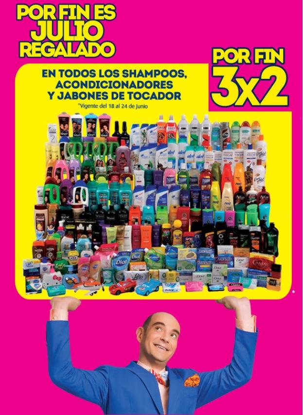 Julio Regalado: Shampoos, Acondicionadores y Jabones al 3×2