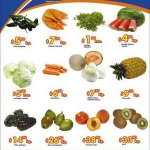 Chedraui: Martes y Miércoles de Frutas y Verduras