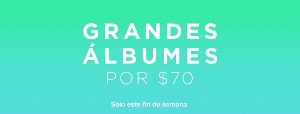 iTunes: Álbumes PRISM, BEYONCÉ, XSCAPE (Deluxe) y más a $70