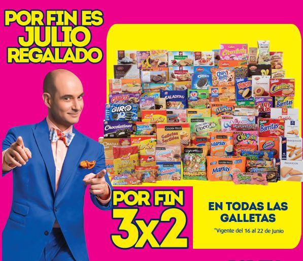 Julio Regalado: Todas las galletas al 3×2