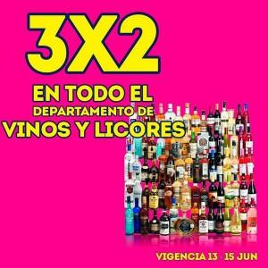 Julio Regalado: Vinos y licores al 3×2