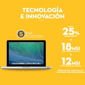 Palacio de Hierro: 5 días de Tecnología