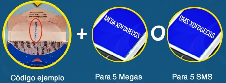 Trident: 5 SMS o 5 MB con Telcel