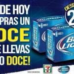 7eleven cervezas bud light