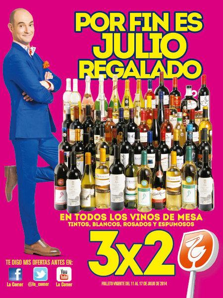 Julio Regalado: Folleto Promocional del 11 al 17 de Julio
