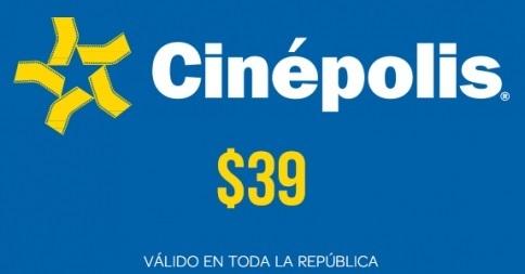Clickonero: Boletos Cinépolis a $39