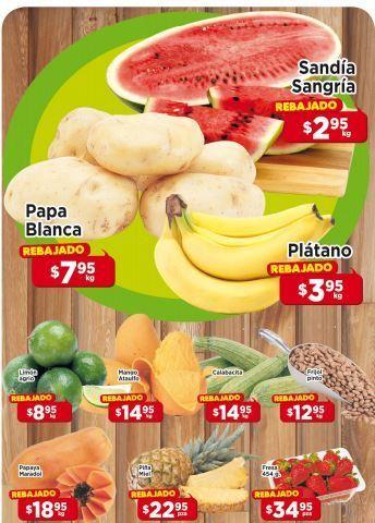 HEB: Tres días de Frutas y Verduras del 1 al 3 de Julio