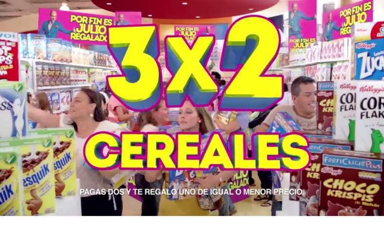 Julio Regalado: Todos los Cereales al 3×2