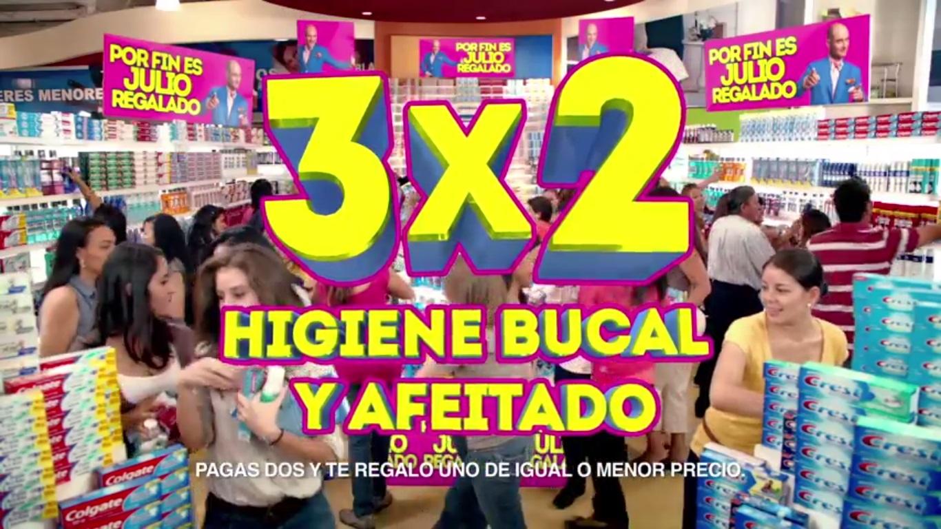 Julio Regalado: 3×2 en Higiene Bucal y Afeitado, Oferta en Juguetes y más