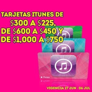 Julio Regalado: Descuento en Tarjetas iTunes