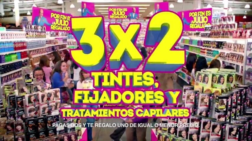 Julio Regalado: Todos los Tintes, Fijadores y Tratamientos al 3×2