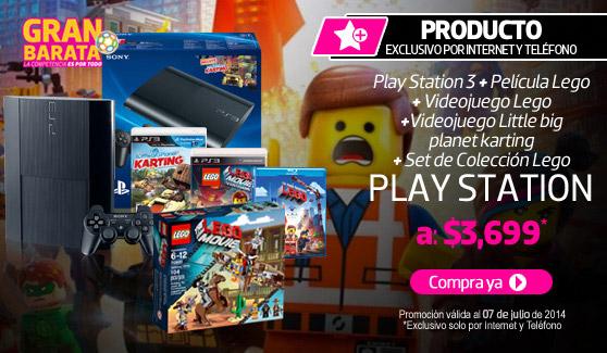 Liverpool: PS3 LEGO 12GB a $3,329