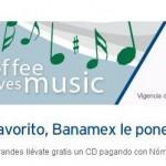 Starbucks CD de música gratis