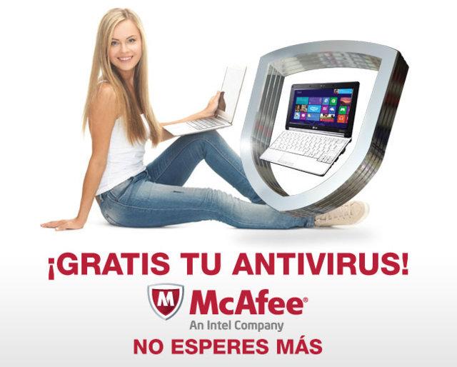 Telmex: McAfee Gratis clientes Infinitum (Precio normal de $649)