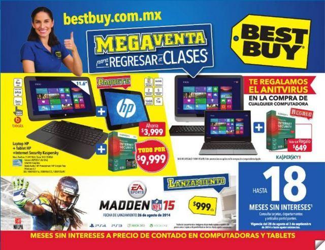 Best Buy: Folleto de Promociones del 28 Agosto al 3 de Septiembre