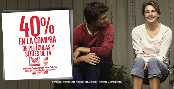 Blockbuster: 40% de descuento en compra de películas y series