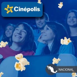 Clickonero: Boletos Cinépolis a $25