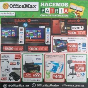 OfficeMax: Folleto de Promociones Septiembre