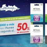 Mixup tarjetas iTunes