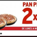 Pizza hut al 2x1