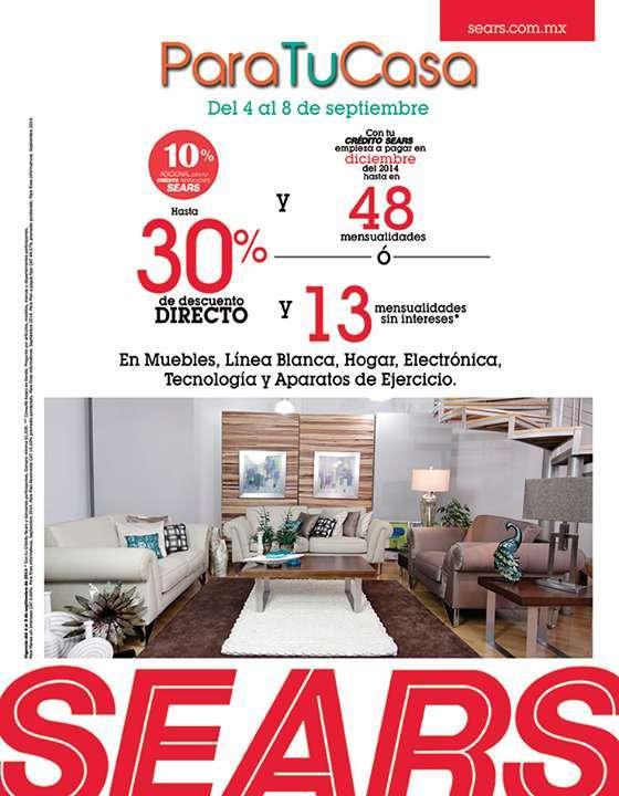 Sears: Para tu Casa – Hasta 30% de descuento directo en muebles