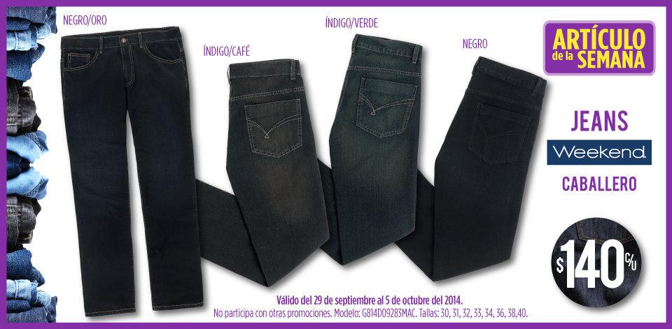 Suburbia: Artículo de la Semana – Jeans para Caballero a $140