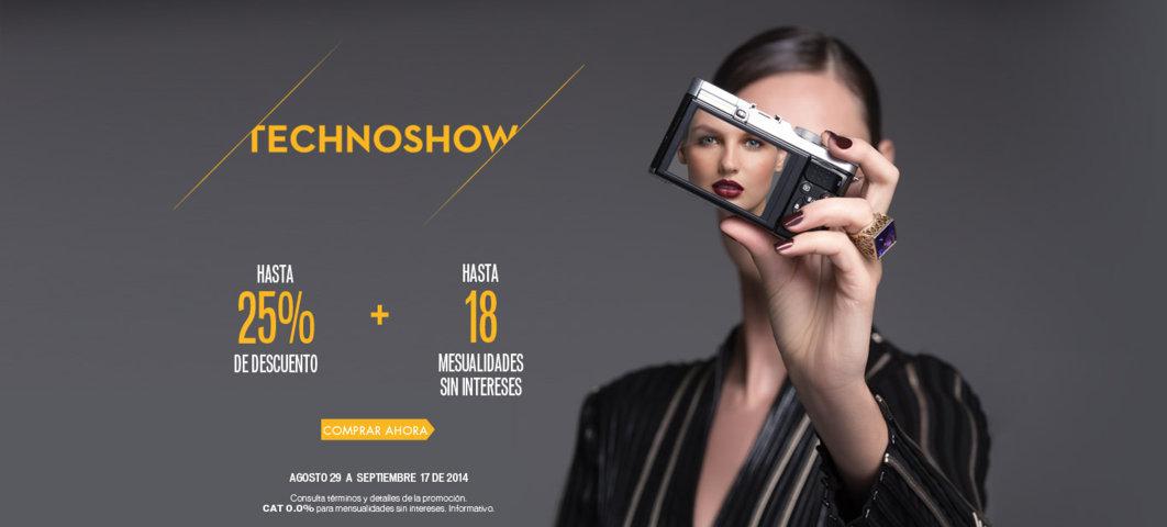 Palacio de Hierro: Technoshow hasta 25% de descuento en tecnología
