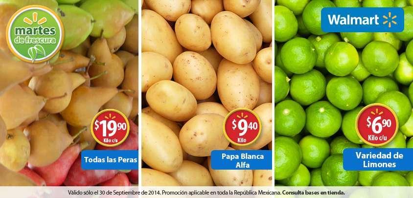 Walmart: Martes de Frescura 30 de Septiembre