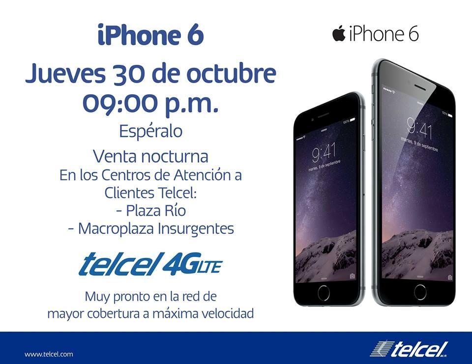 iphone 6 gratis telcel