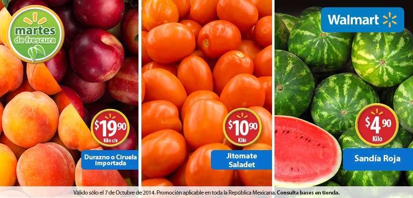 Walmart: Martes de Frescura 7 de Octubre 2014