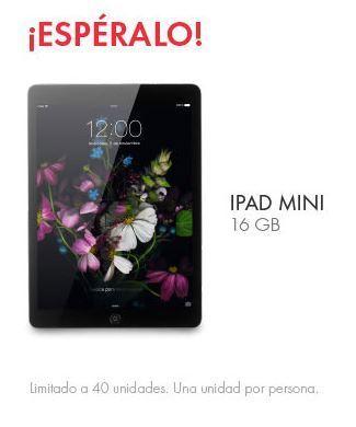El Buen Fin – Linio: iPad Mini a $999