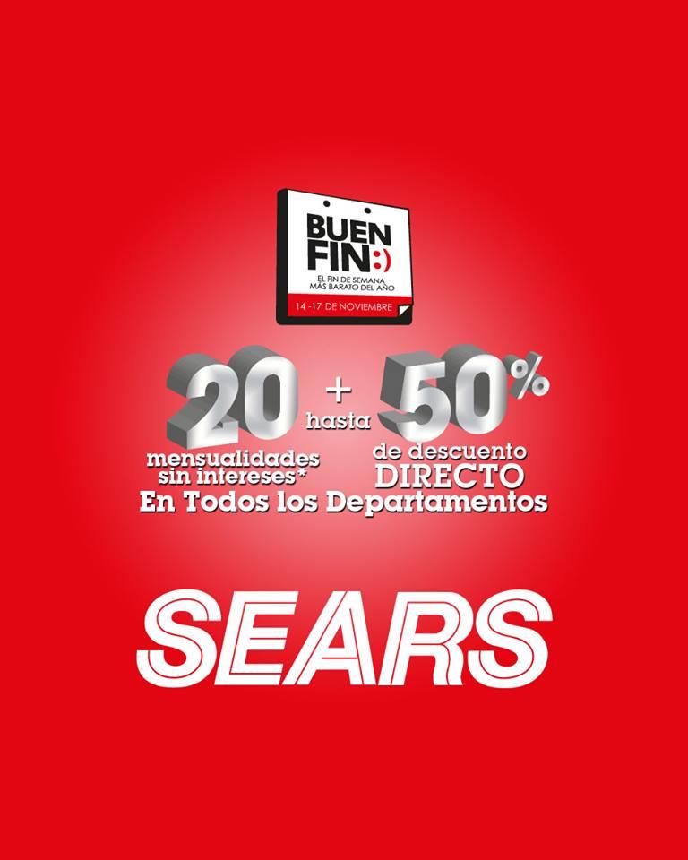 El Buen Fin 2014: Promociones en Sears
