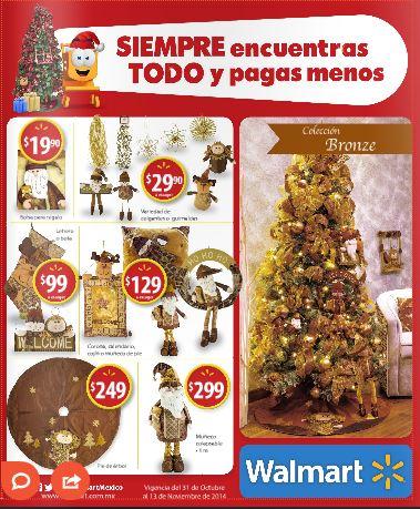 Walmart: Folleto de promociones del 31 de Octubre al 13 de Noviembre 2014