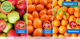 Walmart: Martes de Frescura 4 de Noviembre 2014