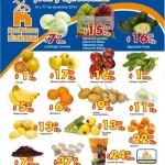 Frutas y verduras Chedraui 16 diciembre