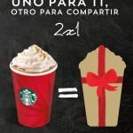 Starbucks 2x1
