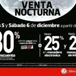 Venta Nocturna Fábricas de Francia Diciembre 2014