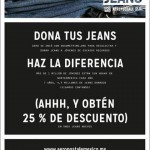 AeroPostal Dona tus jeans