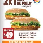 Burger King 2x1