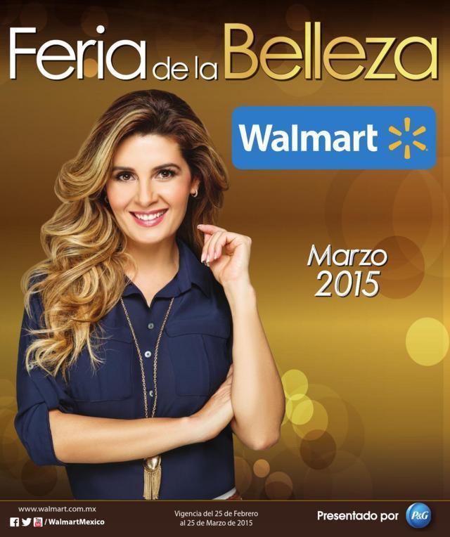 Walmart: Feria de la Belleza Marzo 2015