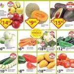 Frutas y verduras Soriana 24 febrero