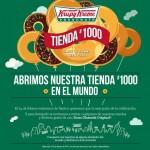 Krispy Kreme regalara donas el 24 de Febrero por abrir su tienda numero 1000 Offde