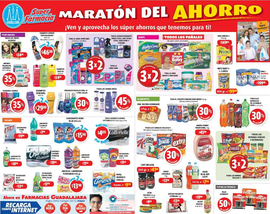 Farmacias Guadalajara: Maratón del Ahorro 27 de Febrero