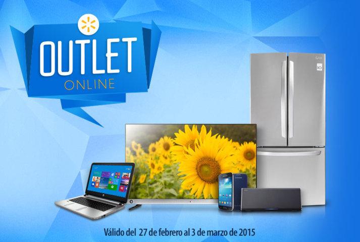 Walmart: Outlet Online del 27 de Febrero al 3 de Marzo