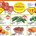 Soriana Frutas y Verduras 3 febrero